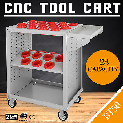 CNC Tool Cart Trolley BT50 Taper Tooling