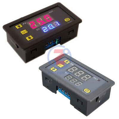 AC 110V-220V LED Dual Display Cycle Timing Delay Timer Relay Module 0-999 Hours