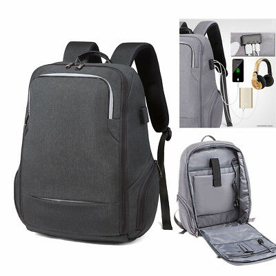 Laptop Backpack 17inch Computer Anti-thieft Large Rucksack Bag & USB Charge Port
