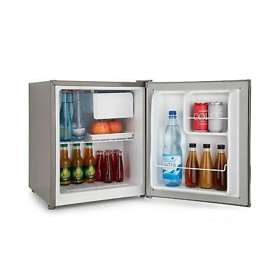 Mini Fridge Freezer Bar Office home Kitchen Drinks cooler A++ 46 Litres Grey