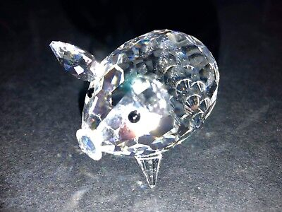 a00301eee SWAROVSKI CRYSTAL PIG Medium With Rare Crystal Tail 010031 Mint ...