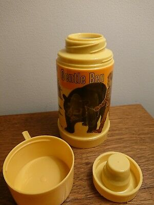 VTG NEW 1968 Gentle Ben & Clint Howard Lunchbox Thermos by Aladdin