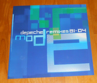 Depeche Mode Remixes 81-04 Poster 2-Sided Flat Square Promo 12x12