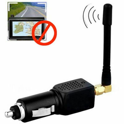 Car Vehicle GPS Blocker Isolator Anti Tracking Device with Antenna +Fuse BEST IT