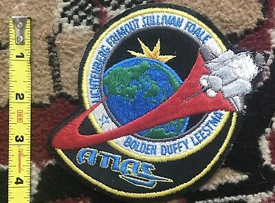 Vintage 1992 Space Shuttle Patch Atlantis Nasa Sts-45 Space Travel