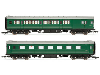 Hornby R4534D Personenwagenset Ex-Maunsell Pull/Push coach Pack Set 619 BR