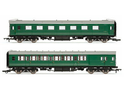 Hornby R4534E Personenwagenset Ex-Maunsell Pull/Push coach Pack Set 601 BR