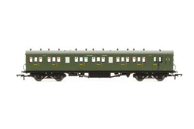 Hornby R4719A Personenwagen 58ft Maunsell Rebuilt Ex-LSWR 48 Six Compartment Bra