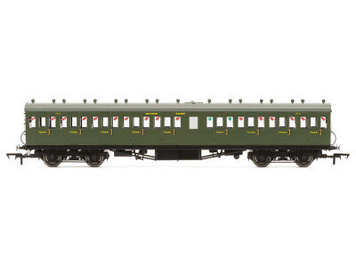 Hornby R4720A Personenwagen 58ft Maunsell Rebuilt Ex-LSWR 48 Nine Compartment 3.
