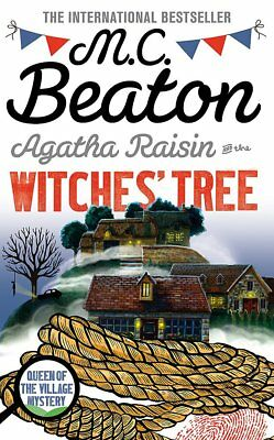 Agatha Raisin and the Witches' Tree by M. C. Beaton (Paperback) Book