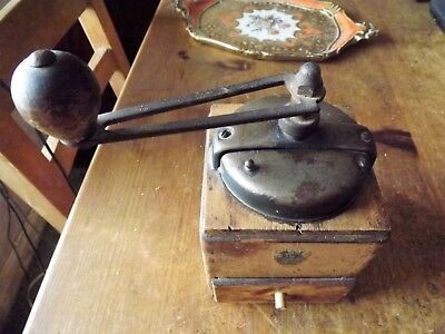 Vintage Large Peugeot Brand French Coffee Grinder / Mill
