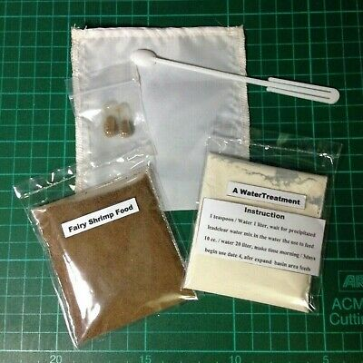 Fairy Shrimp 30,000 Eggs + Hatching Tools Kits For Betta Killifish