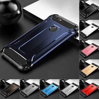 For Huawei Honor 10 9 8 7 Lite 7C 6X Hybrid Rugged Armor Shockproof Case Cover