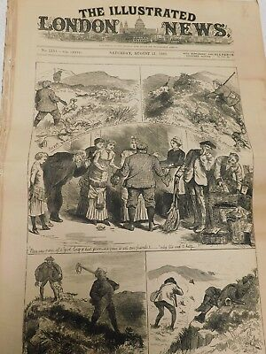 Zeitung The  Illustrated London News 21 August 1880