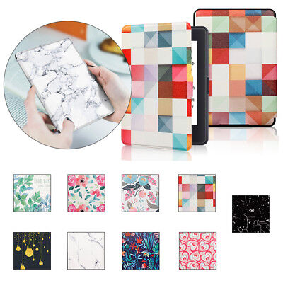 Magnetic Leather Flip Smart Stand Case Cover For DP75SDI Kindle Paperwhite 3/2/1