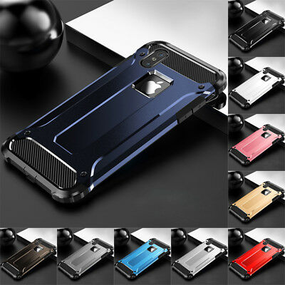 For iPhone  5 6 7 8 Plus X XR XS Max Hybrid Rugged Armor Shockproof Case Cover