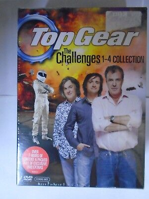 Top Gear - The Challenges 1-4 (DVD, 2010, 4-Disc Set) NEW & SEALED, P4