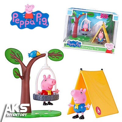 Peppa Pig Camping Trip Fun Playtime Set Young Girls Gift New