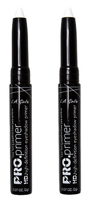 L.A. Girl Pro Primer HD Eyeshadow Primer Stick White 8g x2