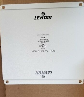 Leviton Universal Security Plate 47612