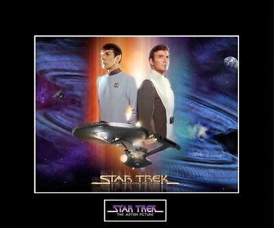 """STAR TREK The Motion Picture 8""""x10"""" Movie Poster Photo - 11"""" x 14"""" Black Matted"""