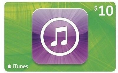 10$ App Store and iTunes Gift Card