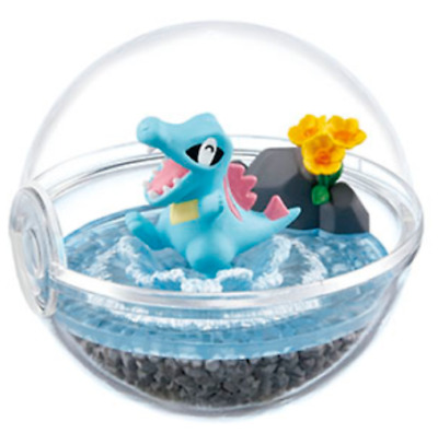 Pokemon Terrarium Collection 4 Totodile from Japan import Re-Ment SALE