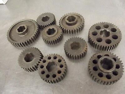 Vintage Lot Quick Change Rear End Gears Midget Sprint Racing Hot Rod
