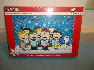 ... peanuts snoopy charlie brown christmas gang puzzle 500 piece sealed 682 ...
