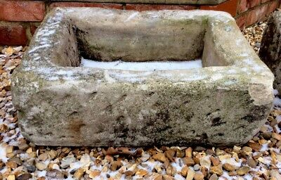Stone trough garden feature barn find old garden planter