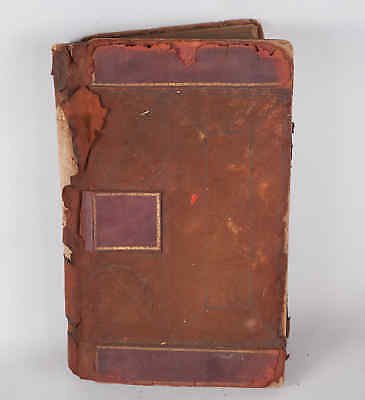 Antique 1909 FDNY Hook & Ladder Co 9  Engine Company 33 NYC Firehouse Log Book
