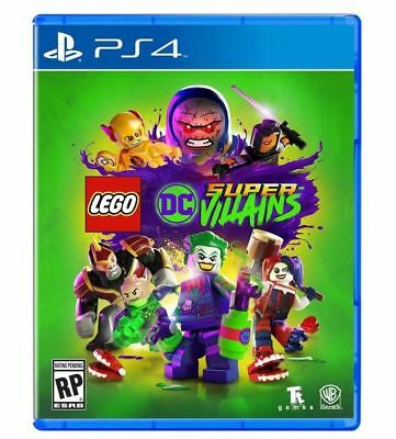 NEW! LEGO DC SUPER VILLAINS (Sony PlayStation 4 PS4)  FAST FREE SHIPPING!!!