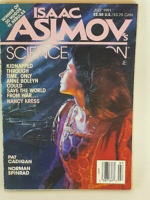 ISAAC ASIMOV Science Fiction Science Magazine July 1991 Nancy Kress