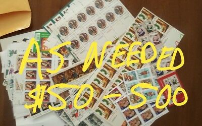 USA VINTAGE CHRISTMAS POSTAGE STAMPS $50-$500 as needed (Read Description)