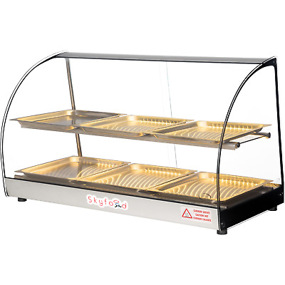 Commercial Countertop Food Warmer Display Case 33""