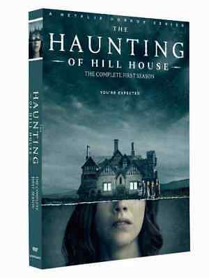 The Haunting Of Hill House Season 1 Dvd - Brand New & Free Priority Post