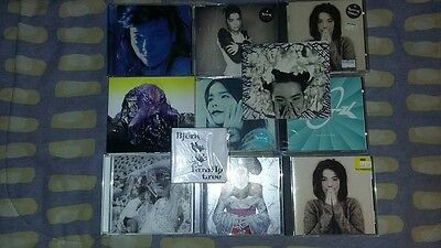 LOT OF 11 - Used CDS - BJORK - Out of Print - Import -  Singles - Albums