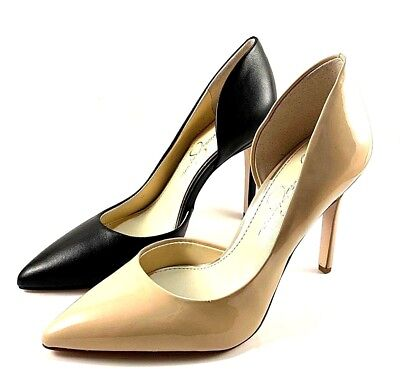 3b93831a682 Jessica Simpson Paryn D orsay Pointy Stiletto High Heel Pumps Choose  Sz Color