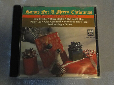 Songs for a Merry Christmas by Various Artists (CD, EMI-Capitol Special Markets)