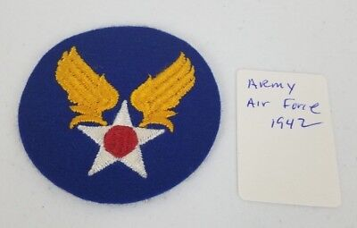 World War 2 Army Air Force Patch 1942