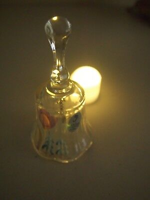 Fenton Hand Painted Bell, Collectors Item, Perfect Condition