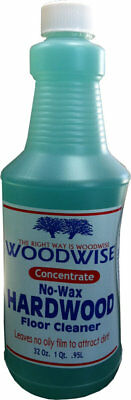 NEW Woodwise No-Wax Hardwood Floor Cleaner Concentrate - 32oz
