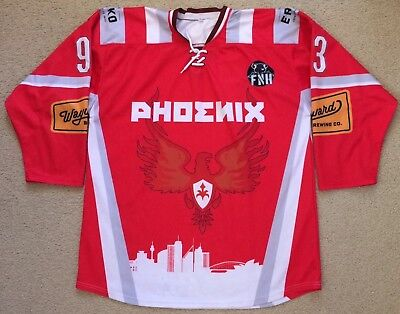 #93 BPECEH FNH Harbour City Ice Zoo Phoenix Ice Hockey Team Jersey Mens XL