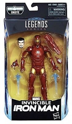 "Marvel Legends Series Black Panther 6"" Invincible Iron Man"