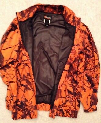 63420139c9131 OUTFITTERS RIDGE MENS Jacket Coat Blaze Orange Hunting Quilted ...