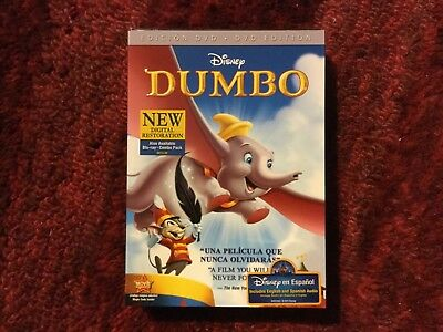 Disney : Dumbo  70th Anniversary Edition with Spanish & English Audio : New DvD