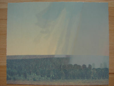 Original signed Russell Chatham - Summer Storm 1998
