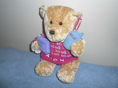 "Avon Plush ""Beary Beautiful Collection"" Teddy Bear Gabbigail Free Shipping!"