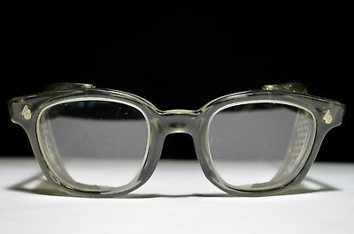 VTG Antique Steampunk Motorcycle AviatorMilitary Goggles GlassesRetroWWII