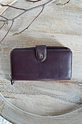 Vintage 1970s Oxblood + Classic Leather Wallet